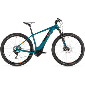 Cube Reaction Hybrid SLT 500 E-MTB Hardtail teal
